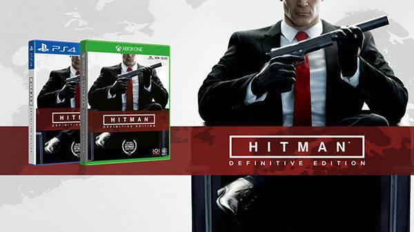 Warner Bros anuncia Hitman: Definitive Edition para Xbox One y PS4
