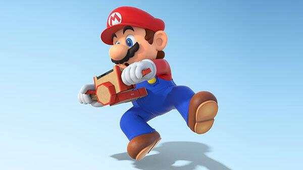 Mario Kart 8 Deluxe ya es compatible con Nintendo Labo