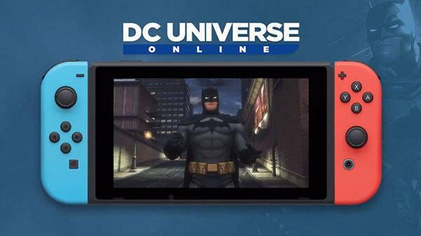 DC Universe Online llegará a Nintendo Switch este verano