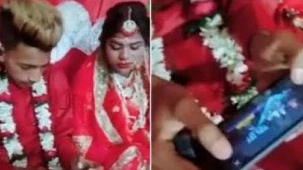 Un novio prefiere jugar a PUBG en lugar de estar pendiente a su propia boda