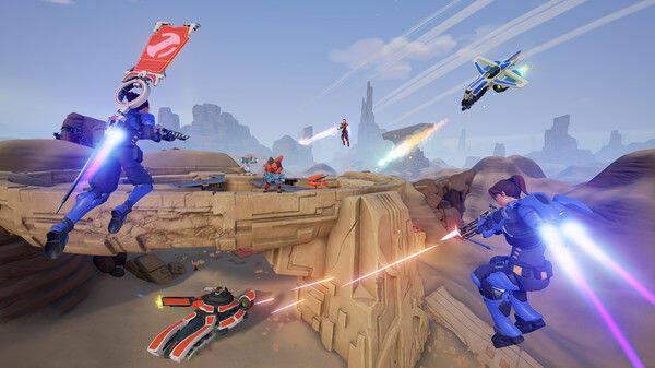 El juego de acción multijugador Midair llega al acceso anticipado de Steam