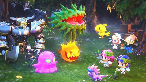 World of Final Fantasy: Meli-Melo debuta en Japón el 12 de diciembre