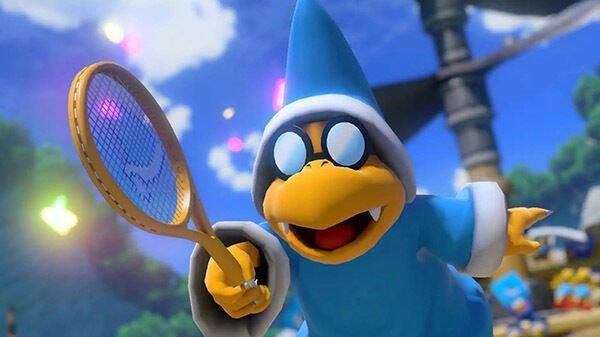 Kamek cogerá la raqueta en abril y se sumará a Mario Tennis Aces