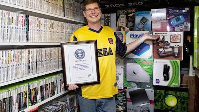 Vendida la mayor colección de videojuegos del mundo por 750.000 dólares