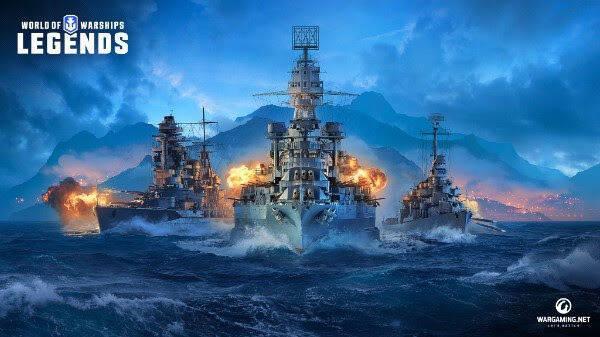World of Warships: Legends desembarcará en PS4 y Xbox One en 2019
