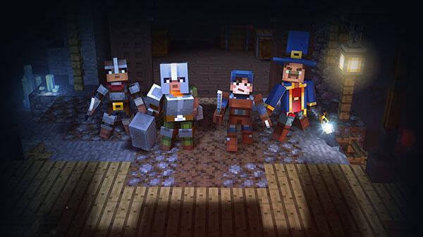 E3 2019: El nuevo Minecraft: Dungeons apuesta por el roguelike
