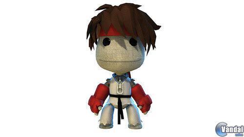 Los disfraces de Street Fighter para LittleBigPlanet, esta semana