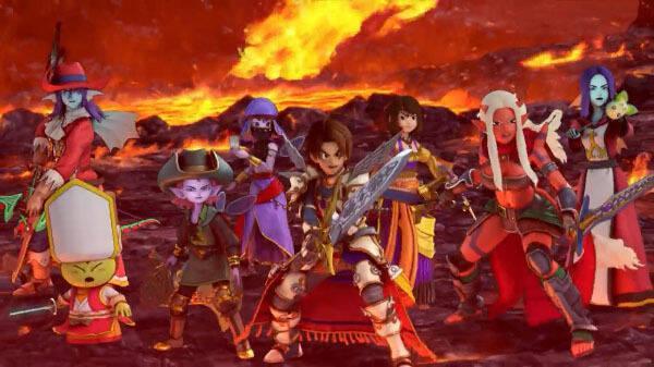 Dragon Quest X muestra su versión de PS4 y Switch en vídeo
