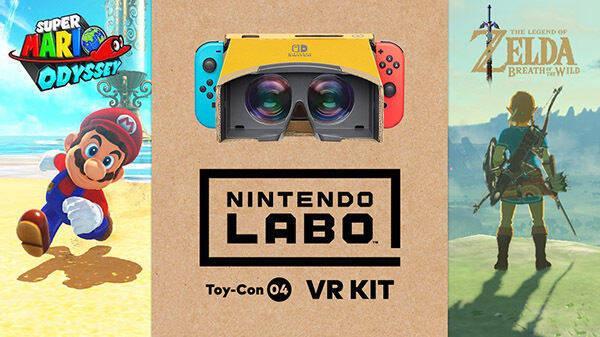 Super Mario Odyssey y Zelda: Breath of the Wild apostarán por la realidad virtual
