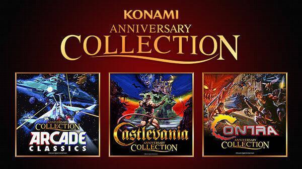 Konami detalla las actualizaciones de sus tres Anniversary Collection
