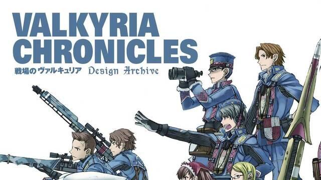 Editan un libro de arte de Valkyria Chronicles