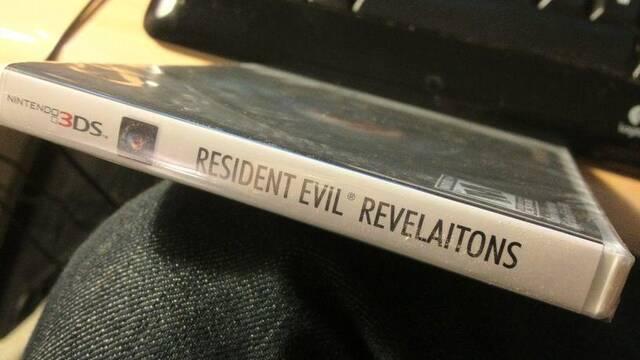 La carátula americana de Resident Evil Revelations contiene un error