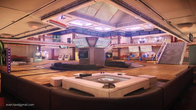 Imaginan como sería un Pokémon Center con Unreal Engine