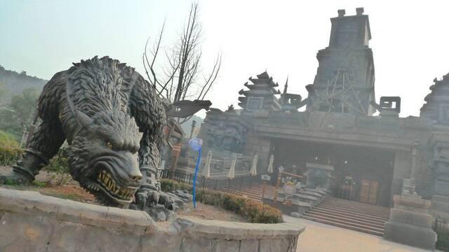 Fotografías del parque 'inspirado' en World of Warcraft y Starcraft