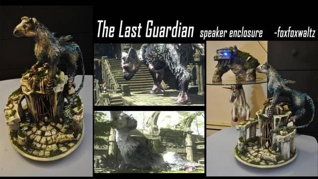 Crean una carcasa de The Last Guardian para altavoces