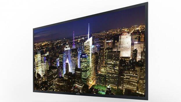 Sony presenta su nueva TV de resolución 4K en el CES