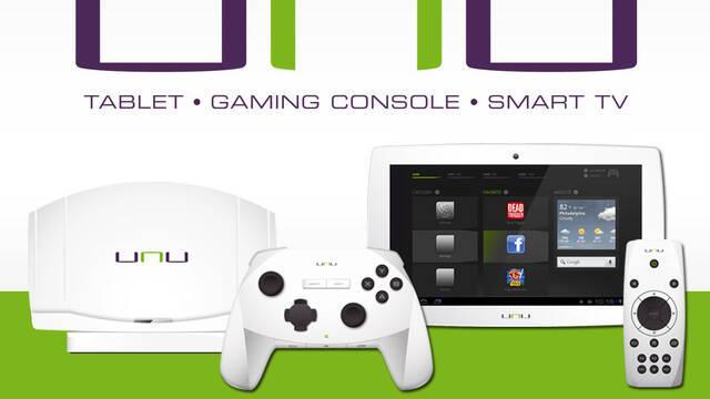 Presentada unu, una tableta con funciones de consola y Smart TV