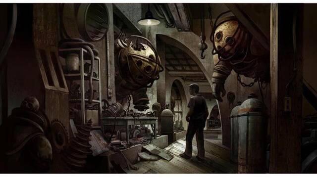 Se filtra arte conceptual de la película de BioShock
