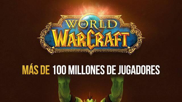 Más de 100 millones de personas han jugado a World of Warcraft