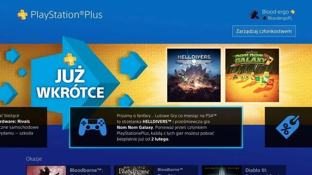 Helldivers y Persona 4 Arena Ultimax, entre los juegos de PS Plus para febrero