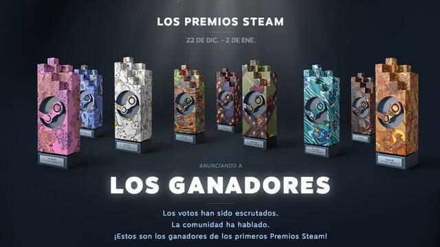 Valve ha anunciado los ganadores de los primeros premios oficiales de Steam