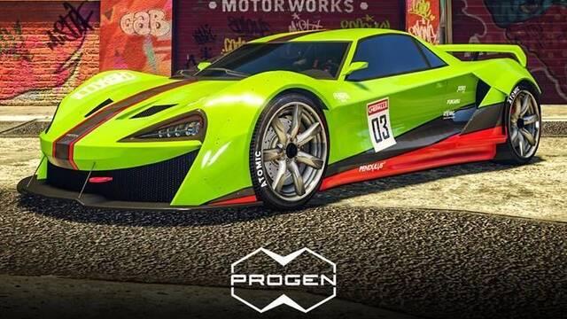 Ya está disponible el lujoso Progen Itali GTB Personalizado, el coche más caro y rápido de GTA Online