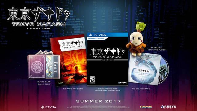 Tokyo Xanadu llega en verano a PS Vita; en invierno a PS4 y PC