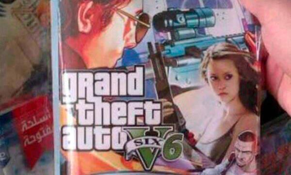 El surrealista GTA 6 con terminators lanzado en Brasil para PS2