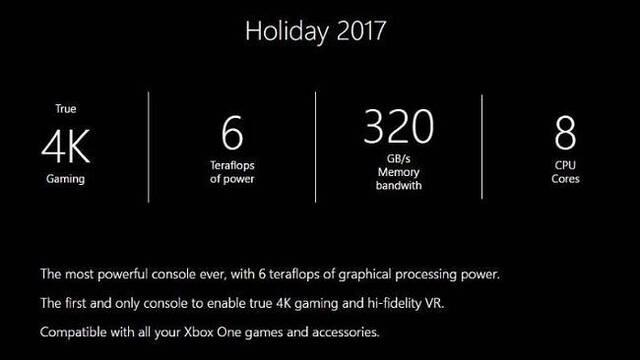 Microsoft confirma que Project Scorpio ofrecerá 'experiencias de realidad virtual de alta calidad'