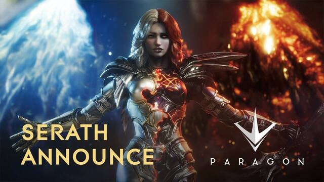 Paragon nos muestra en acción a Serath, un nuevo personaje