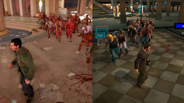 Un vídeo compara la interactividad de Dead Rising 4 con el original
