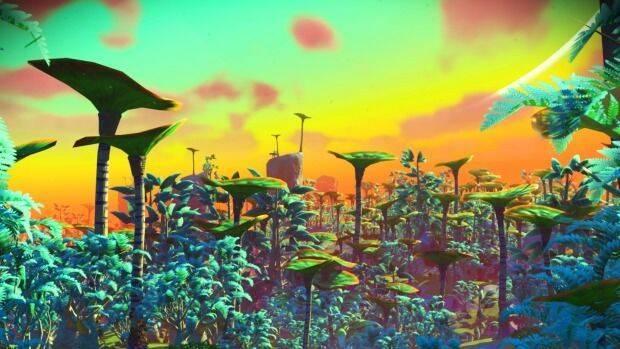 Un mod quiere hacer que No Man's Sky luzca como en los tráilers del E3