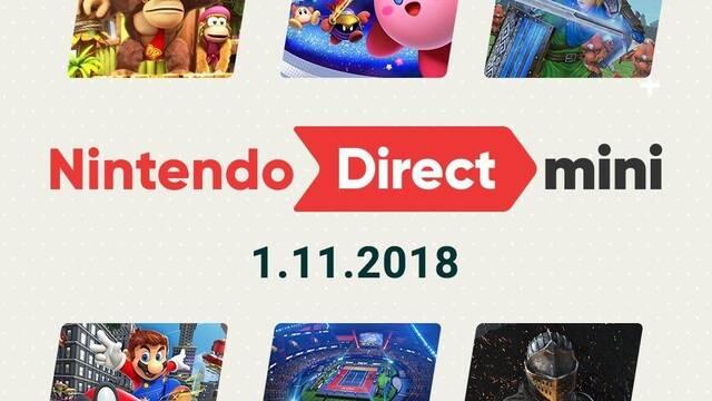 Nintendo publica por sorpresa un Nintendo Direct Mini