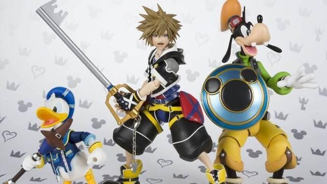 Bandai anuncia nuevas figuras de Goofy y Donald basadas en Kingdom Hearts