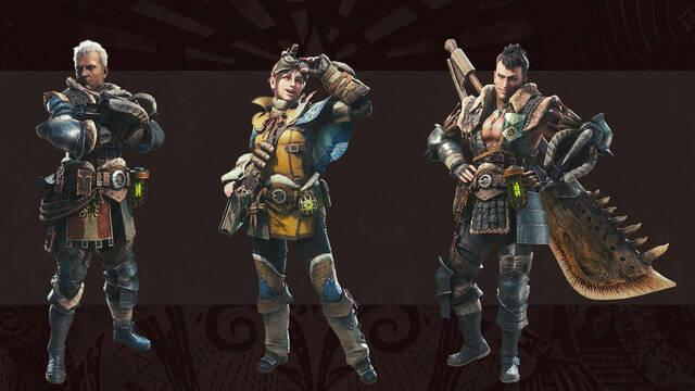 Líder de equipo de campo - Monster Hunter World