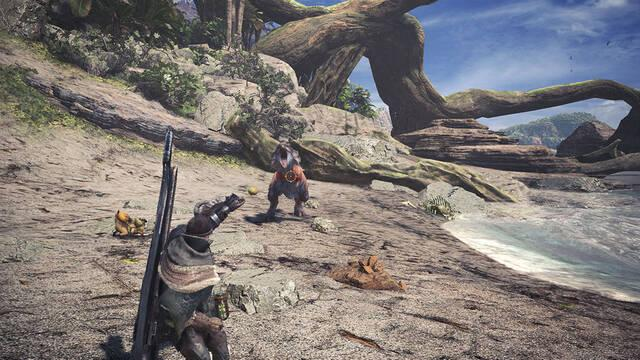 Eslinga Monster Hunter World