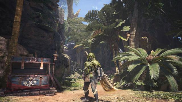 Herramientas especializadas Monster Hunter World