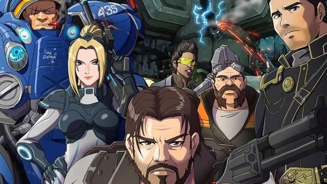 Reimaginan el videojuego StarCraft II como si se tratase de un anime