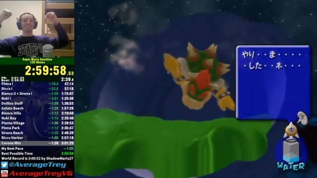 Consigue todos los Soles de Super Mario Sunshine en menos de 3 horas
