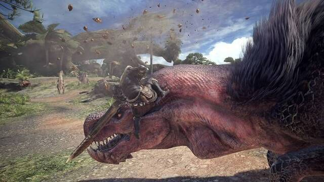 Cómo saltar y agarrar a los monstruos en Monster Hunter World