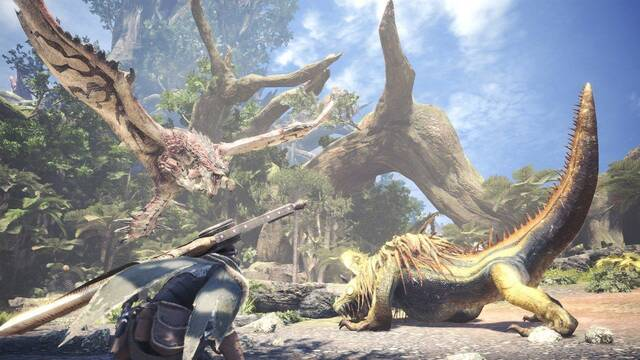 Cómo crear objetos y munición en Monster Hunter World