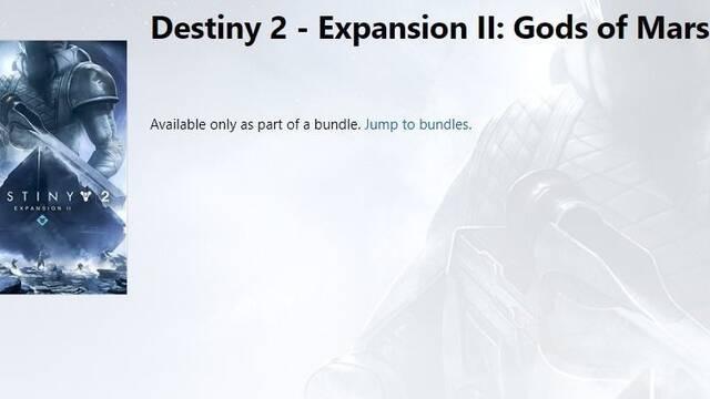 Nuevas filtraciones sobre la segunda expansión de Destiny 2