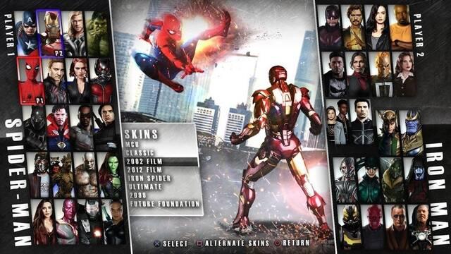 Imaginan cómo sería un Injustice 2 de Marvel
