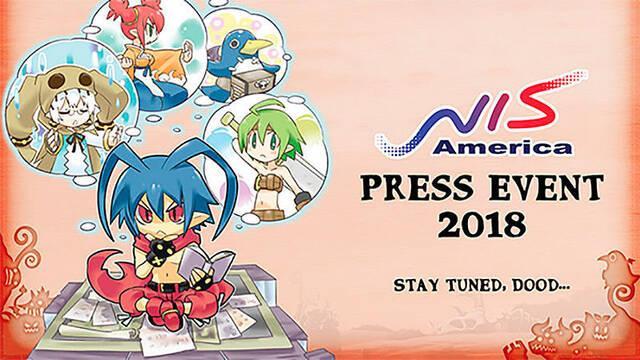 NIS America anunciará nuevos juegos el 9 de febrero