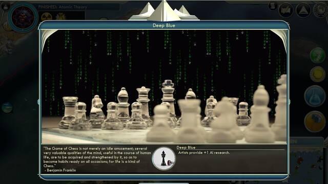 Crean un 'mod' sobre superinteligencias artificiales para Civilization 5