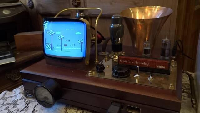 Diseñan una SEGA Master System II al más puro estilo Steampunk