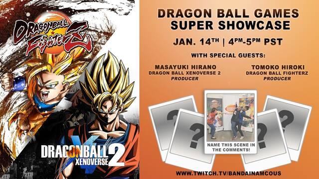 Habrá grandes anuncios de Dragon Ball FighterZ y Xenoverse 2 el 14 de enero