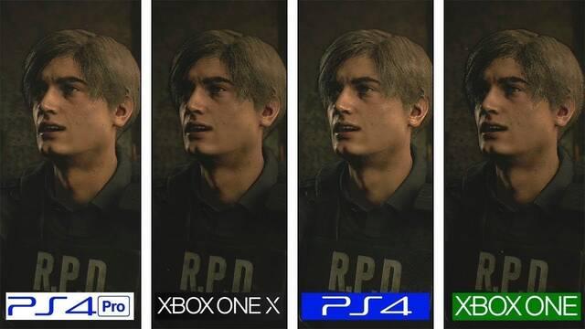 Comparan los gráficos de la demo de Resident Evil 2 Remake en consolas