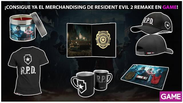GAME detalla su merchandising e incentivos para Resident Evil 2 Remake