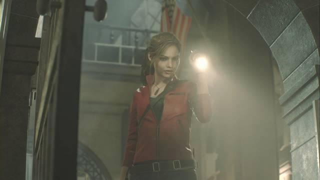 Busca una salida en Resident Evil 2 Remake (Leon y Claire)